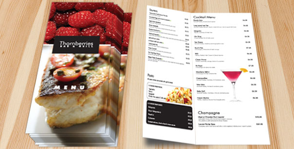 CMM - Menu Design and Print